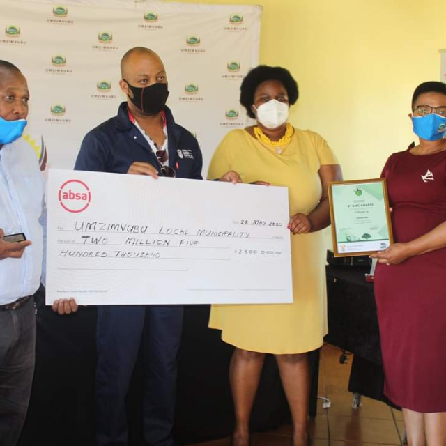 UMZIMVUBU LOCAL MUNICIPALITY AFFIRMED AS THE 3RD GREENEST LOCAL MUNICIPALITY IN SOUTH AFRICA